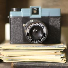 Diana Camera, it's one of the many things she would carry in her bag.