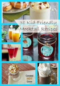 Over 30 Yummy Mocktail (non-alcoholic cocktail treat refreshments) Drink Recipes Perfect for Kid Parties this Summer