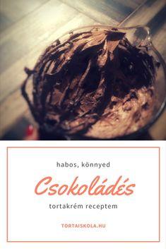 Extra csokoládés tortakrémem – Tortaiskola