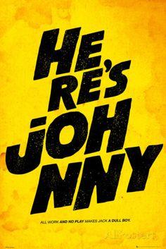 Film Quotes - Johnny Poster bei AllPosters.de