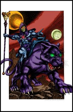 Skeletor by DrunkenShinigami He Man Thundercats, Power Rangers, Dbz, Transformers, Sword And Sorcery, Online Art Gallery, Pixel Art, Book Art, All About Time