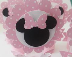 Tubetes Personalizados MINNIE ROSA Minnie Mouse Birthday Theme, Minnie Mouse Pink, Mickey Minnie Mouse, Cool Birthday Cards, Birthday Party Decorations, Birthday Parties, Mini Mouse Baby Shower, First Birthdays, Crafts