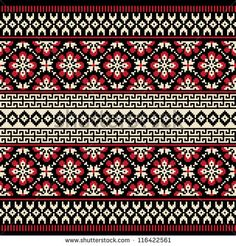 Stock Images similar to ID 310069817 - the embroidered pattern