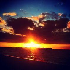 #Sonnenuntergang. #boltenhagen #instagram