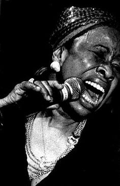 Betty Carter (1930 - 1998) Jazz vocalist with her own avant-garde style