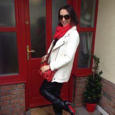 White Zara Jacket by Linda Personal Taste, Spring Jackets, March 2014, Zara, Coats, Style, Swag, Wraps, Coat