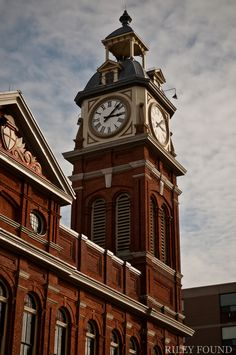 I love our Clock Tower downtown Peterborough, Ontario: Favourite photo of The Kawarthas. Reminds me of home.