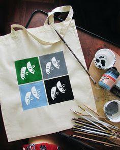 Artistic Sketches: Theatre (Clothbag)