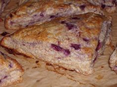Cherry Mascarpone Cream Scones Recipe