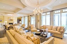 Plush: Beyonce and Jay-Z's summer home is lavishly decorated and boasts a 2,800-square-foot master suite