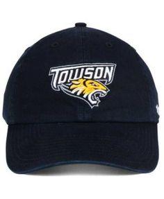 newest c271c 2b32c  47 Brand Towson University Tigers CLEAN UP Cap   Reviews - Sports Fan Shop  By Lids - Men - Macy s