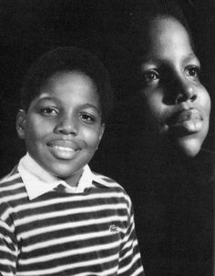 Biggie's childhood pic.. nice.. r.i.p.
