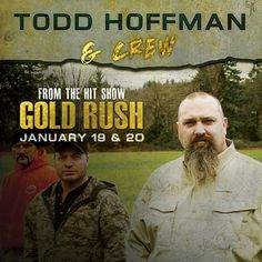 So excited that Todd Hoffman  & crew are coming to @centralonline January 19 & 20! #goldrush