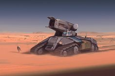 """Currently I'm still working on new unit concepts and illustrations for the mobile game """" Warzone : Clash of Generals """". Manticore, Concept Motorcycles, Expedition Vehicle, Dream House Exterior, Sci Fi Fantasy, War Machine, Sci Fi Art, Military Vehicles, Futuristic"""