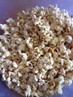 Sonnendufts Blog: Butter Käse Popcorn
