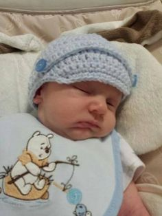 Baby Boy News Cap by LEACreations on Etsy, $6.00