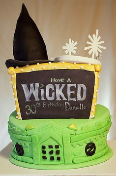 I think I should try something like this for my sister's next birthday...best ever! #wicked #broadway