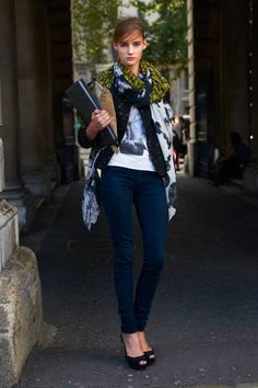 Olivia Monnington London Fashion Week Street Style - Spring 2013 Street Style - ELLE