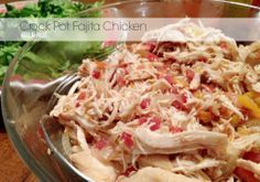 Crock Pot Fajita Chicken