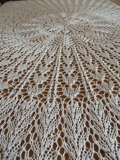 My knitted doily