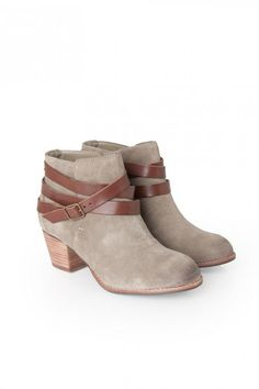 Java Ankle Boot in Taupe Suede DV by Dolce Vita