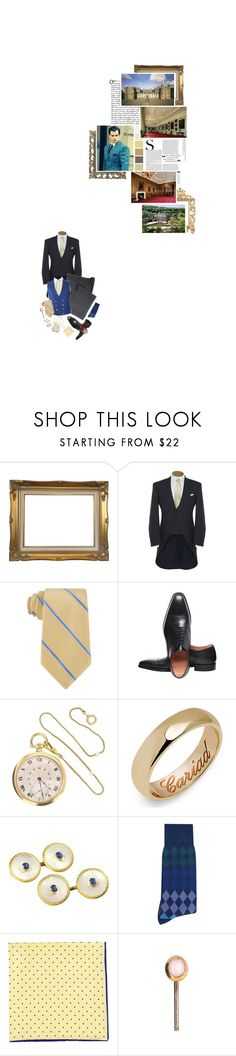 """(A) Carries out engagements at the Palace of Holyroodhouse, including hosting a garden party"" by immortal-longings ❤ liked on Polyvore featuring Michael Kors, Joseph Cheaney & Sons, Paul Smith and Neiman Marcus"