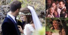 """a atriz Natalie Portman se casou com o coreógrafo Benjamin Millepied. Os casal, que optou por uma cerimônia intimista e judaica, se conheceu durante as filmagens do longa """"Cisne Negro"""", lançado em 2010, e já tem um filho, o pequeno Aleph, que nasceu no dia 14 de junho de 2011."""