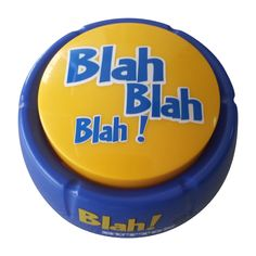 Blah Button - Talking Button Features 12 Blah Sayings - Talking Novelty Gift with Funny Sound Clips Love Gifts, Best Gifts, Office Gag Gifts, Gag Gifts For Women, Best White Elephant Gifts, Funny Phrases, Gifts Under 10, Novelty Gifts, Cool Items