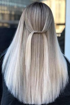 Long Straight Hair With Balayage #balayagehair ★ Explore tips on how to get straight hair. Our tips will work for short, medium, and long haircuts. Enhance the natural texture. ★ See more: http://glaminati.com/straight-hair-styles/ #straighthair #straighthairstyles #glaminati #lifestyle