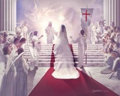 Christian picture of a bride at the stairway to Heaven - Google Search