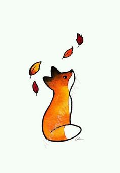 Little fox | We Heart It
