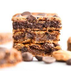 Healthy Peanut Butter Blondies & Video - JoyFoodSunshine