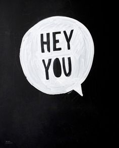Hey you we should meet somewhere and then we should greet each other with a kiss. :*