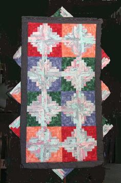 Free Quilt Pattern : Log Cabin Traditions 1