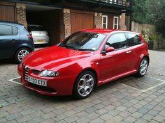Alfa Romeo 147 GTA :  3179 cc - 247 bhp @ 6200 rpm - 1435 kg - 6 speed Manual