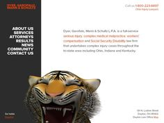 New Law Firm Website Design by Andrei R