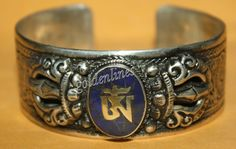 Lapis bracelet cuff bracelet Tibet bracelet Tibetan by goldenlines
