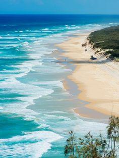 Les plus belles plages du monde - Fraser Island Australie | plage, vacances, séjour, île, paradisiaque. Plus d'idée sur http://bocadolobo.com/blog/Categories/boca-do-lobo-news/