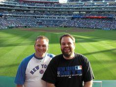 National's Park. Mets vs. Washington  June 6, 2009  PG & MG