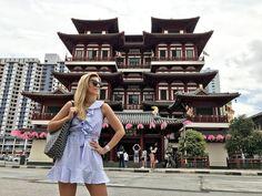 Miss trendy Barcelona: Blue ruffles dress Ruffle Dress, Ruffles, Barcelona, Blue, Dresses, Gowns, Barcelona Spain, Dress, Day Dresses