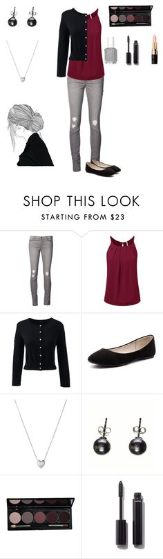 """""""Untitled #10"""" by hadley101 ❤ liked on Polyvore featuring J Brand, Lands' End, Verali, Links of London, Black, Chanel and Bobbi Brown Cosmetics"""