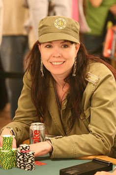 Annie Duke, born 1965, Concord, New Hampshire