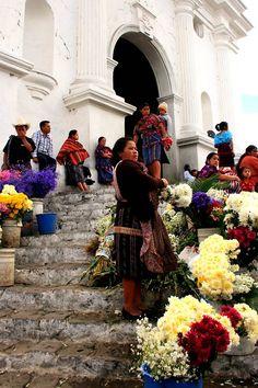 Iglesia de Chichicastenango, Guatemala