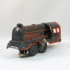 Vintage US Zone Germany Windup Tin Train by VintageCreekside, $75.00