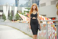 Party Outfit Feat. Style Staple, Vintage Dior, Giuseppe Zanotti Vintage Dior, Vintage Clutch, Camille Co, Cos Fashion, Giuseppe Zanotti, Fashion Dresses, Two Piece Skirt Set, Bodycon Dress, Stylish