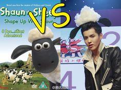 Shaun ... eh...Kris the Sheep