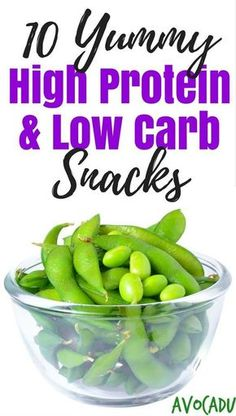 High Protein Snacks | Low Carb Snacks for Weight Loss | Healthy Snacks to Lose Weight | http://avocadu.com/10-yummy-high-protein-low-carb-snacks/