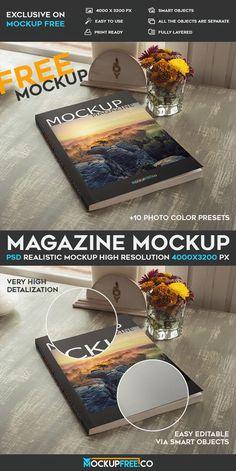 Magazine – Free PSD Mockup | Free PSD Templates
