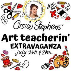 Cassie Stephens, Dot Day, Art Lessons For Kids, Teacher Blogs, Teacher Favorite Things, First Grade, Second Grade, Elementary Art, Fourth Grade