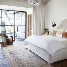 Classic elegant bedroom designed by RSA Associates.